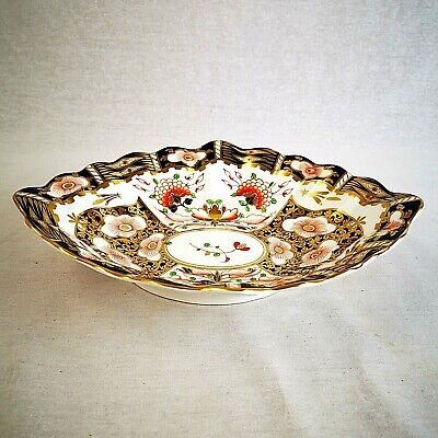 Derby Stevenson & Hancock Large Serving Dish Antique