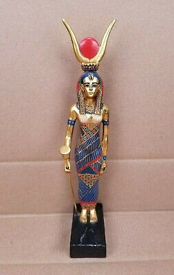 "AGI Artisans Guild International ISIS 12.5"" Figure Egyptian Goddess Statue Egypt"