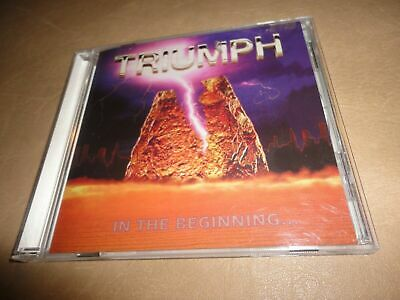 Triumph IN THE BEGINNING remastered CD Rik Emmett