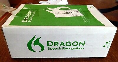 Dragon Naturallyspeaking Home 13 Speech Recognition for PC Nuance, DVD version