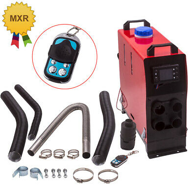 5000W Air diesel Heater LCD Remote 2KW-5KW 12V For Trucks Lorrys Boat Bus 4-Hole