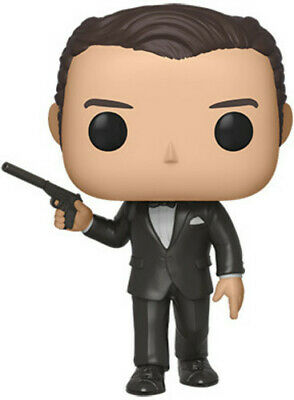 James Bond - Pierce Brosnan (Goldeneye) - Funko Pop! Movies: (2019, Toy NUEVO)