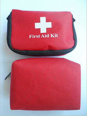 Emergency First Aid Kit Carry Bag Pouch Camping Car Holiday Travel NTSG