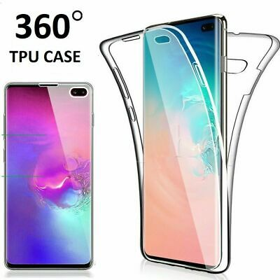 Luxury Clear Soft Gel 360°Full TPU Cover Case For Samsung GALAXY S9  UK