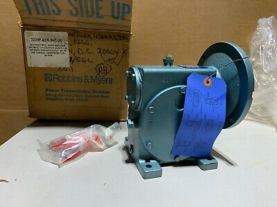 Robbins & Myers 2225F Worm Gear Speed Reducer RH 30:1 Ratio, 1.26 Input HP