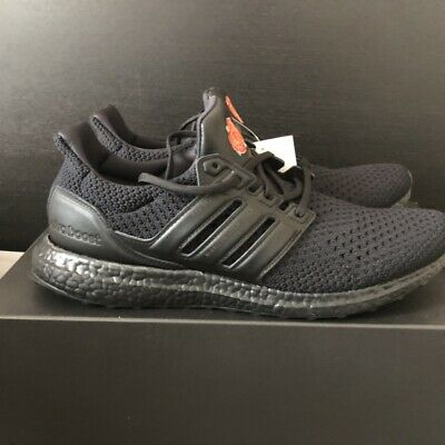 New Adidas X Manchester United Red Rose Ultraboost Core Black Eg8088 Size 13 179 77 Picclick
