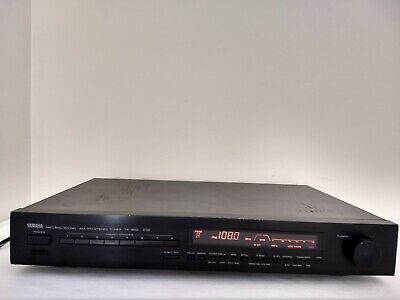 Vintage YAMAHA TX-950 AM/FM Audiophile Stereo Radio Tuner - Tested and Working