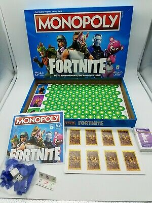 Monopoly Fortnite Special Edition Board Game Epic Video Game Based