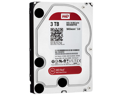 "Western Digital 3TB WD30EFRX HDD 64MB Cache Internal Hard Drive 3.5"" SATA III"