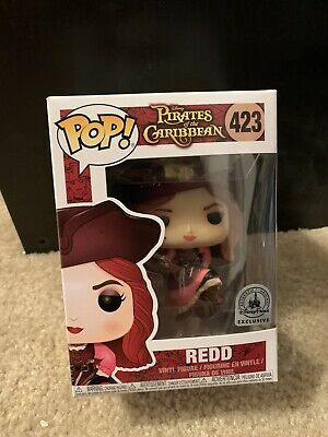 New funko pop pirates of the caribbean Redd Disney Parks Exclusive
