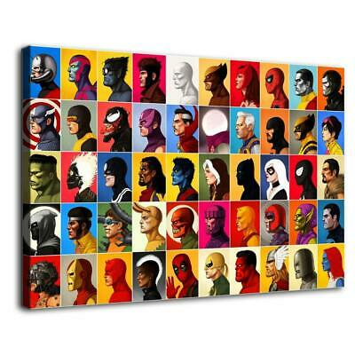 """12""""x18""""Super hero Poster HD Canvas print Painting Home Decor Picture Wall art"""