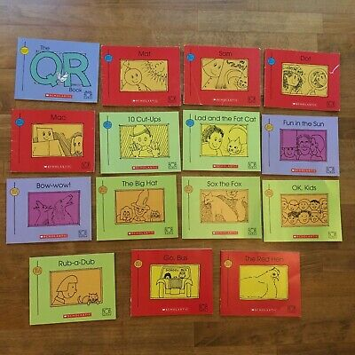 Lot of 15 Bob Book Beginning Readers Scholastic Learn to Read Phonics Kids