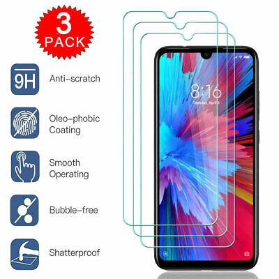 3Pack Screen Protector for Xiaomi CC9 9T Redmi 8 8A Note 8 7 Tempered Glass Film