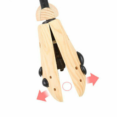 Women Men Rack Shoe Stretcher Bunion Two Way High Heels Wooden Shaper Holder