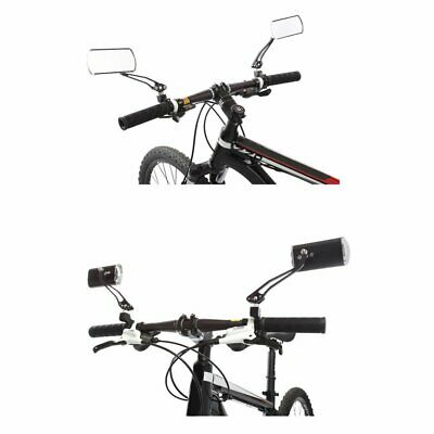 Cycling Bike Bicycle Rear View Mirror Handlebar Flexible Safety Rearview KW