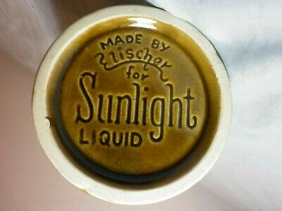 Rare Vintage Sunlight Liquid Detergent Mug / Scoop ? Advertsing Cup Soap Laundry