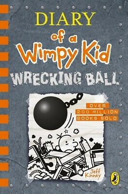 Diary of A Wimpy Kid: Wrecking Ball by Jeff Kinney (NEW Hardback)