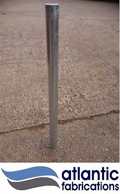 Stainless Steel, 76mm, parking post security bollard
