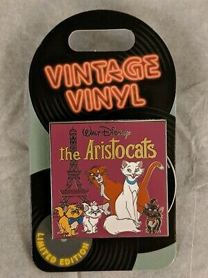 The Aristocats Vintage Vinyl Series Disney World Trading Pin Limited Edition