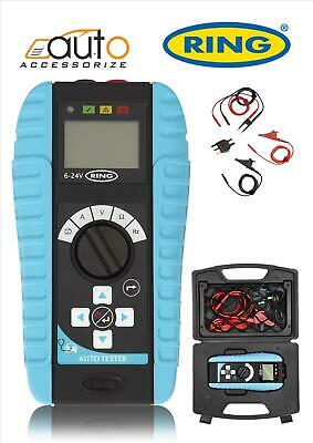 Ring Multi-Function Automotive Tester With in-line testing RMM500