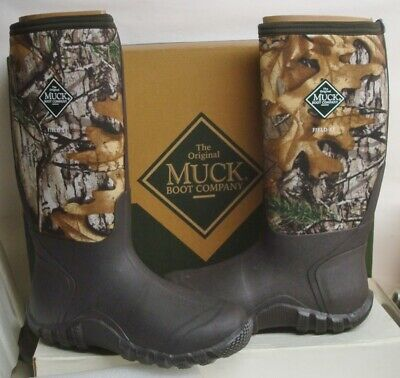 MUCK Waterproof Field XT RealTree PULL ON BOOTS All Terrain size 8 only NEW
