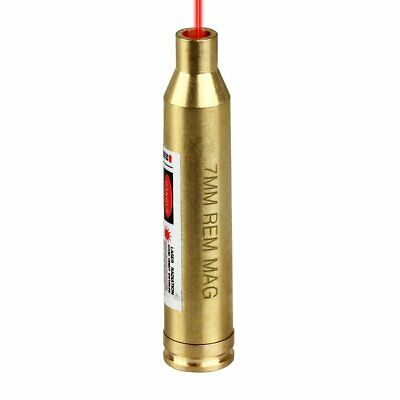 7MM REM MAG Laser Bore Sighter Cartuccia Red Collimatore Laser Sight Boresighter