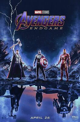 Avengers Endgame 44 Movie Poster Canvas Picture Art Wall Decore