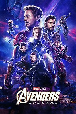 Avengers Endgame 47 Movie Poster Canvas Picture Art Wall Decore