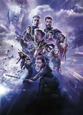 Avengers Endgame 56 Movie Poster Canvas Picture Art Wall Decore