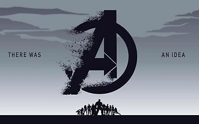 Avengers Endgame 74 Movie Poster Canvas Picture Art Wall Decore