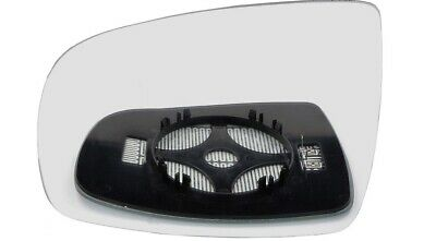 Left passenger side Wide Angle mirror glass for Nissan Terrano 1993-2005 heated