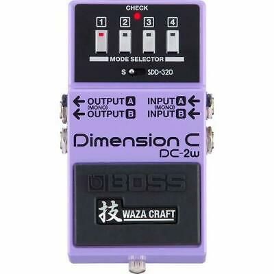 BOSS DC-2W WAZA CRAFT Dimension C Made in Japan New F/S