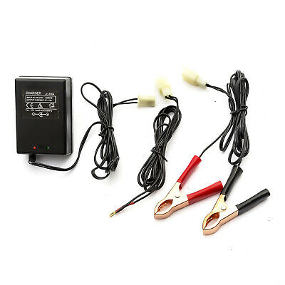 Intelligent 12v Motorcycle Lead Acid Battery Charger Set Automatic Smart Trickle