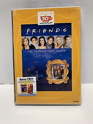 Friends  The Complete 1st First Season 20th Anniversary DVD Set NEW Sealed