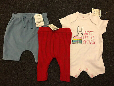 *XMAS CLEAROUT* Brand New With Tags Girls Up To 1 Month Clothing Bundle *XMAS*