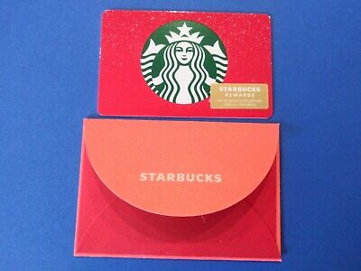 "Starbucks gift card 2019 ""Christmas Siren"" MINT. New. No Value"