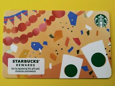 "Starbucks gift card 2019 ""DAY OF THE DEAD"" CELEBRATION CARD. New No Value"