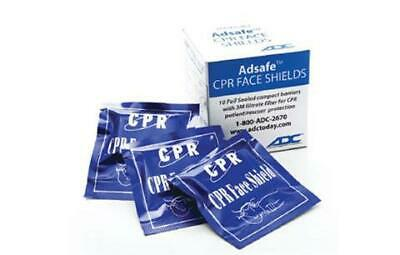 American Diagnostic Corporation ADC Adsafe™ 4055-10 CPR Face Shield Foil Pack