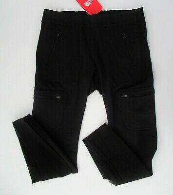 NWT The North Face Solid Black Utlity Hybrid Hiker Tights Pants Sz XL NEW $80