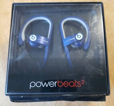 Beats By Dre. Original Powerbeats2 Wired In-Ear Headphone - Blue, parts only