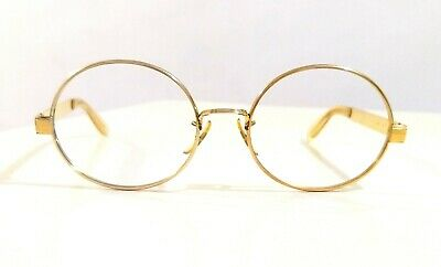 B&L USA RAYBAN 1970's Bausch & Lomb oval john lennon rare model  round metal