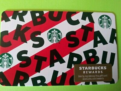 "Starbucks gift card 2019 ""PEPPERMINT MOCCA"" New. No Value. Cool Card"