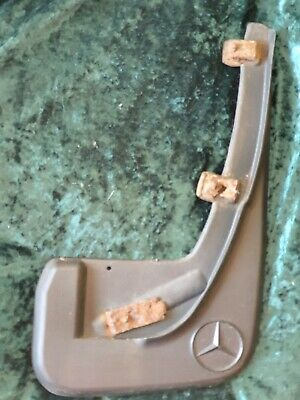 Mercedes W124 S124 front right mudflap - used
