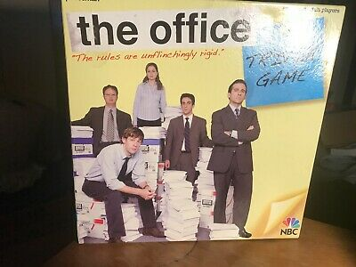 The Office Trivia Board Game Pressman NBC (new open box) WITHOUT WRISTBAND 4123