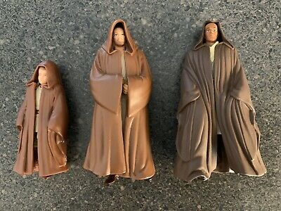 Star Wars Jedi, Hooded Collection. 3 Figures.