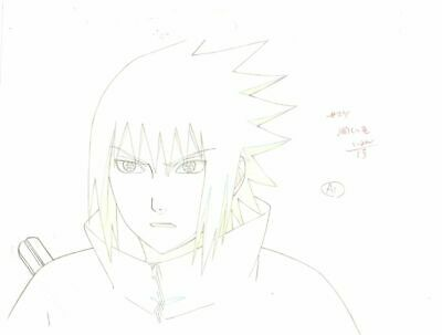Anime Genga not Cel Naruto #232