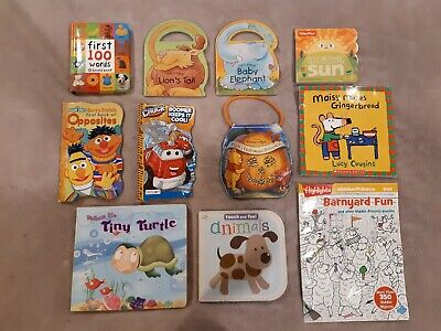 y11 CHILDRENS BOOKS STORYTIME BEDTIME READING LEARNING INTERACTIVE +15 free toys