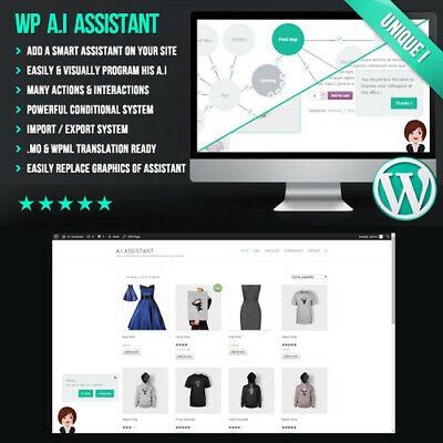 WP A.I Assistant ⭐ Virtual Smart  Assistant on your website ⭐ Plugin Wordpress