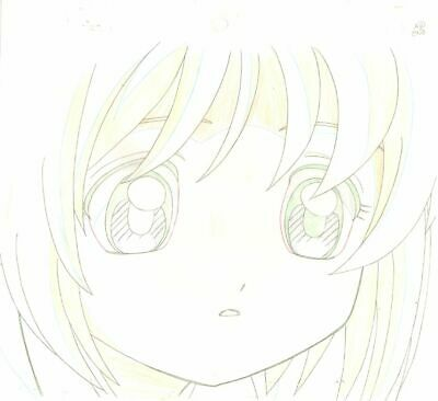 Anime Genga not Cel  Card Captor Sakura #172