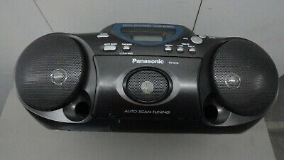 PANASONIC RX-D16 FM/AM Radio CD Cassette Tape Player